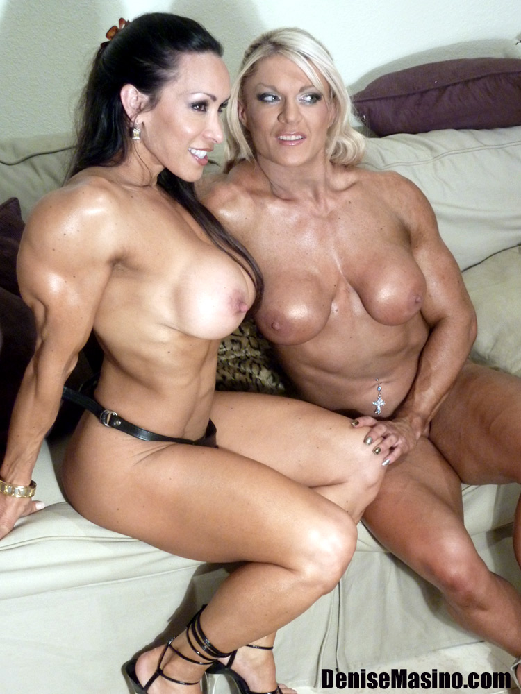 Denise Masino And Lisa Cross Live Nude Muscle Cam Show
