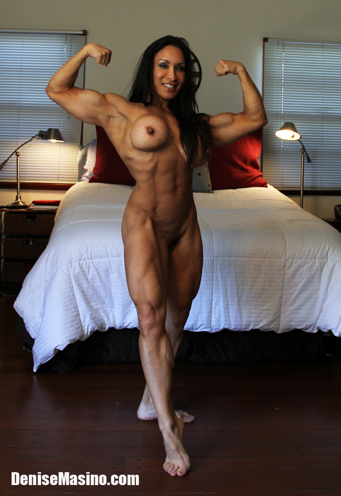 Denise Masino Naked Muscle Athlete This is my body on my new training ...