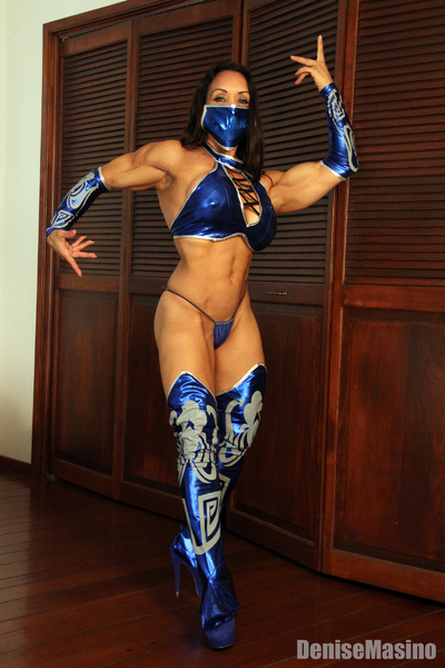 Denise Masino as Mortal Combats Kitana
