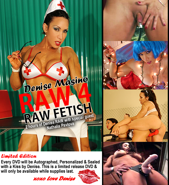 Denise Masino Raw 4 DVD