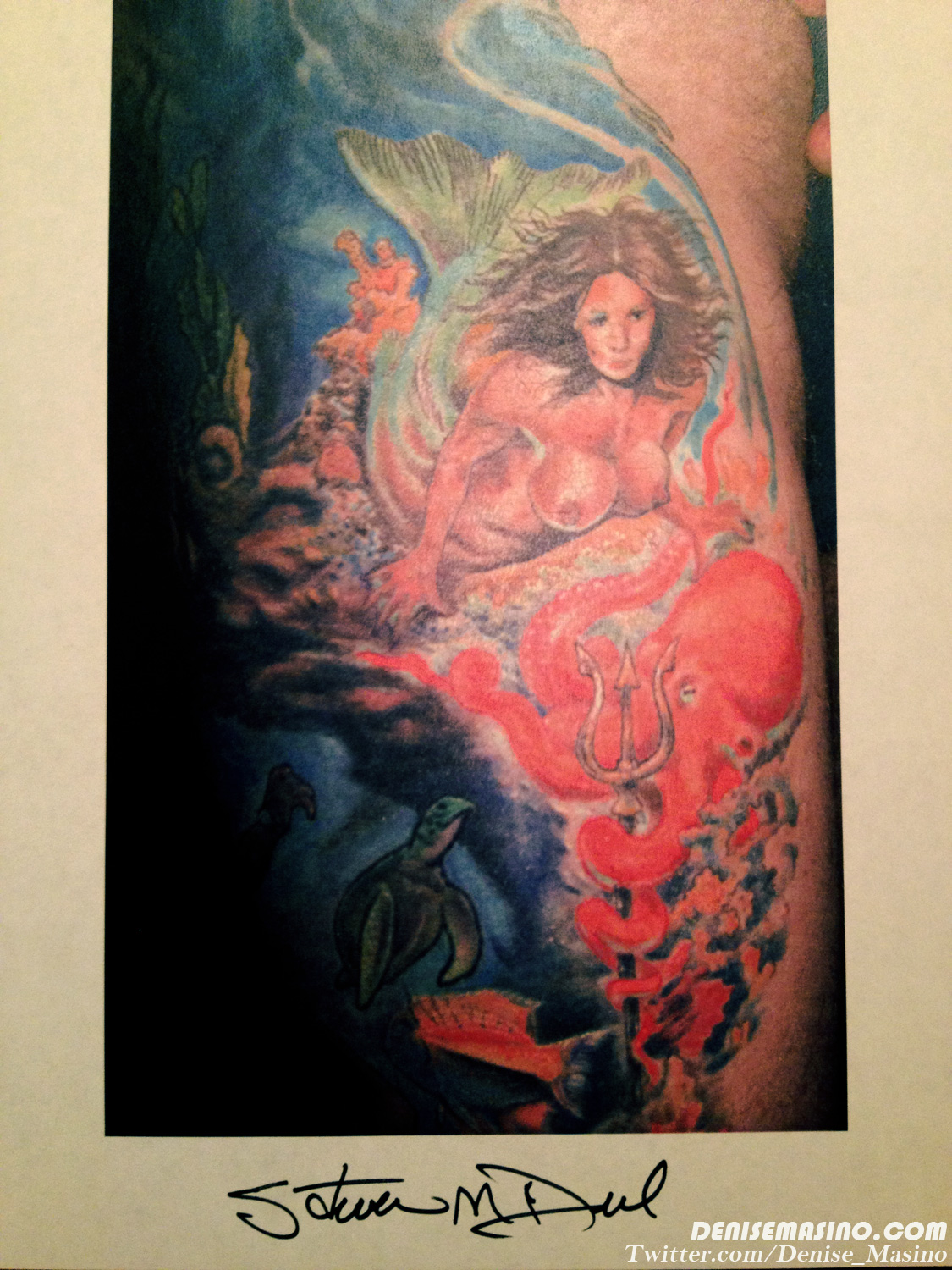 DeniseMermainTattooStevenDeel