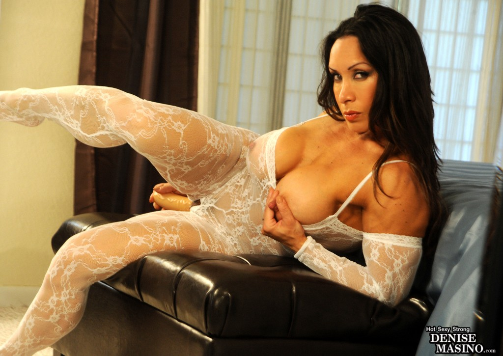 Denise Masino Female Muscle Lace