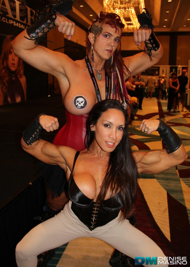 Denise Masino at Fetish Con 2013