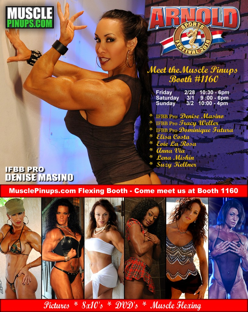 Denise Masino's Muscle Pinups