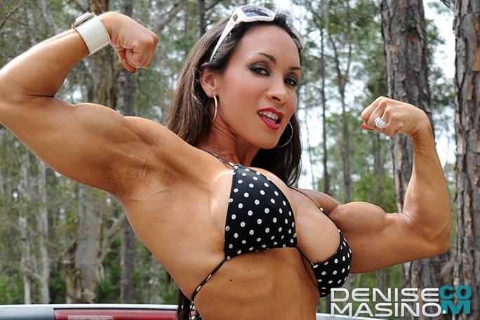 Denise Masino Sexy Muscle