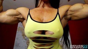 Denise Bulging Biceps