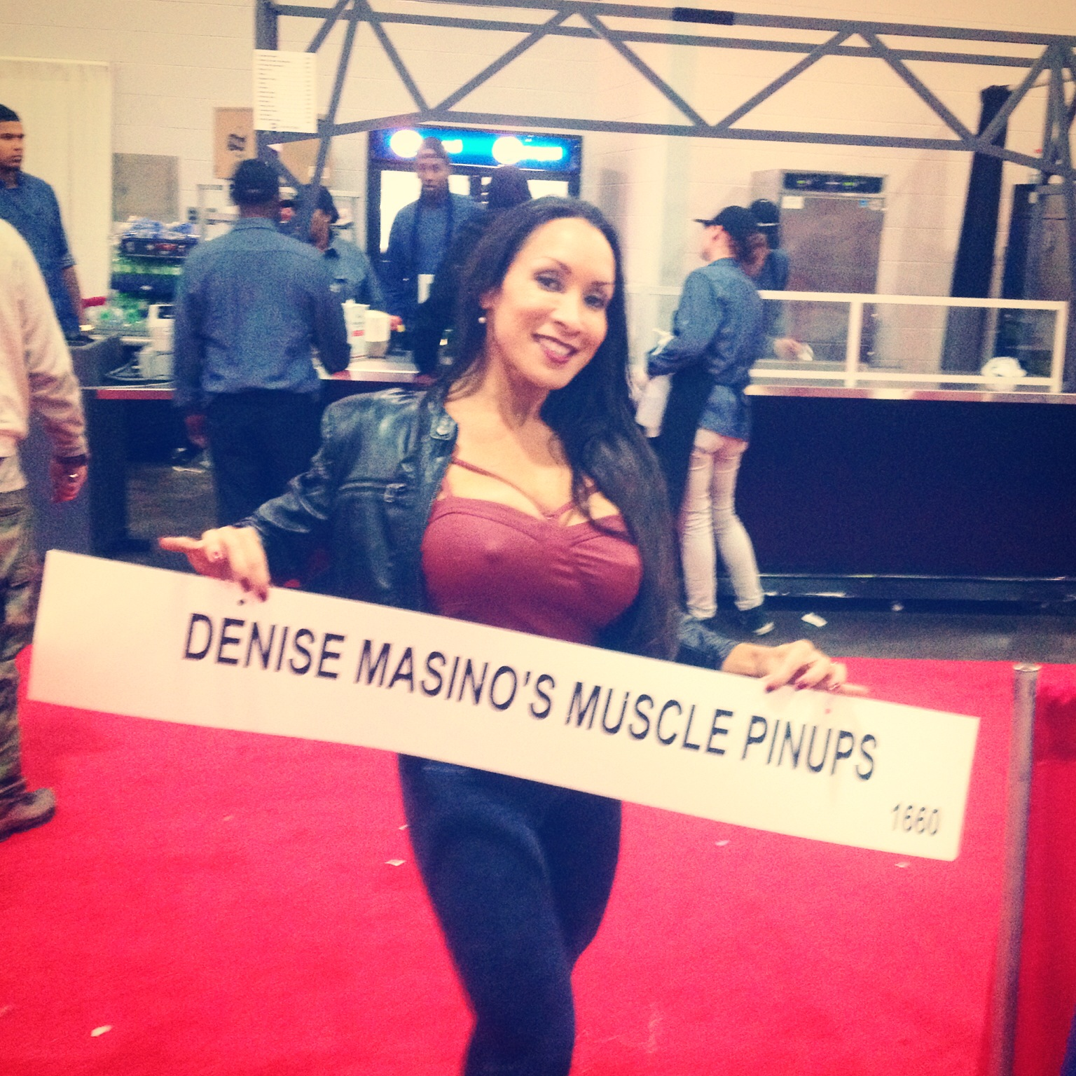 Denise Masino Muscle Pinup
