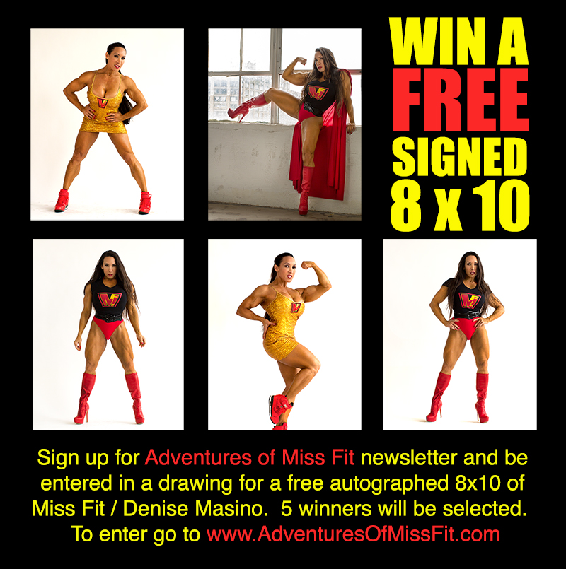 Miss Fit photo giveaway